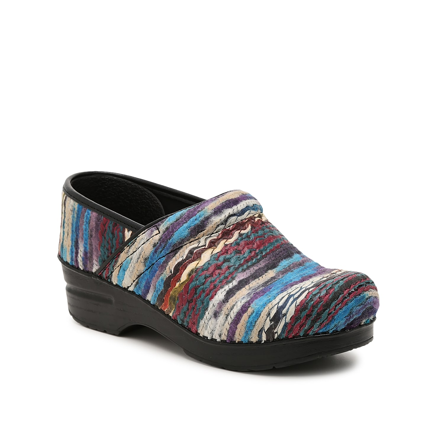 For a long day on your feet, feel supported when wearing the Professional clog from Dansko. This slip-on features a coated yarn upper and a chunky midsole that helps keep you on your toes comfortably!