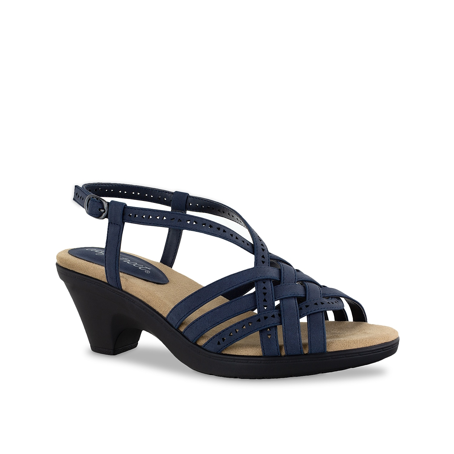 You can never go wrong with the Jackson sandal from Easy Street. This silhouette is fashioned with a strappy upper and a cushioned footbed that allows you to walk around with ease.