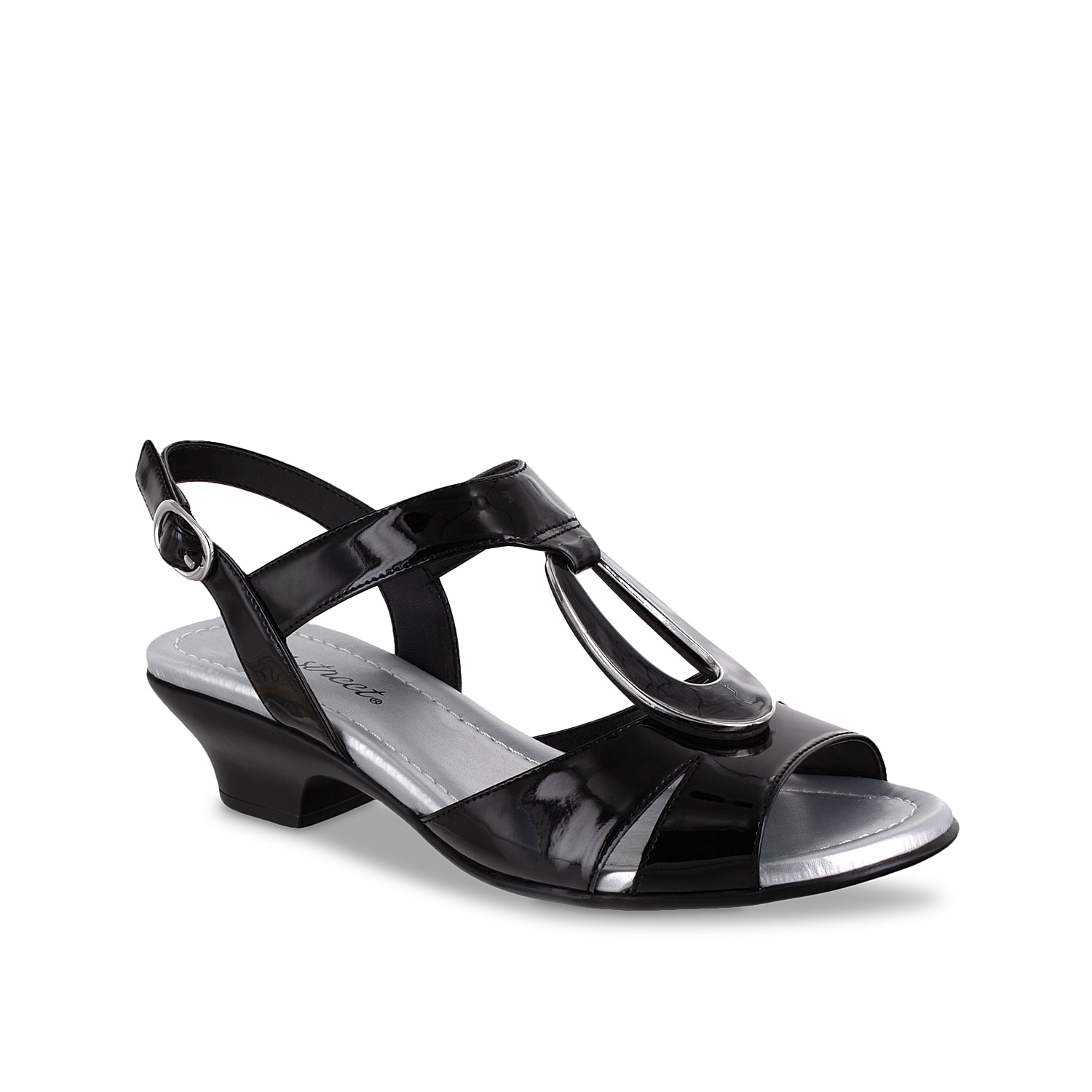 Easy street brings you the Phoenix sandal for your warm weather casual style. The simple slingback strap and generously padded footbed keeps you on your feet all day long!