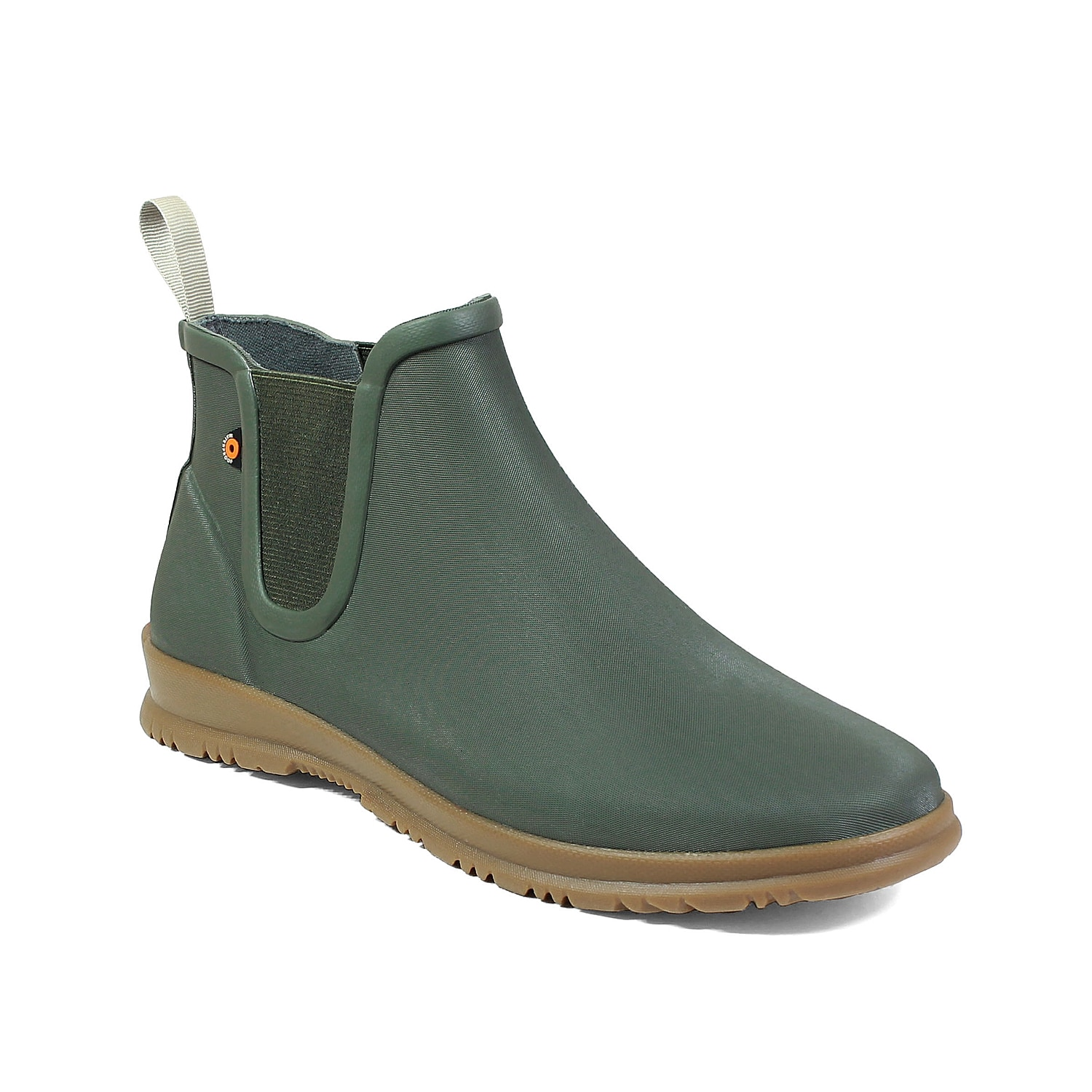 The Sweetpea bootie from Bogs is one shoe that isn\\\'t afraid of a few raindrops. This ankle boot features a waterproof rubber construction and DuraFresh anti-odor technology to keep you feeling dry and fresh all day. Click here for Boot Measuring Guide.