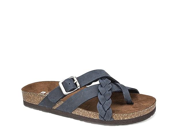 WHITE MOUNTAIN Womens Hayleigh Flat Sandal