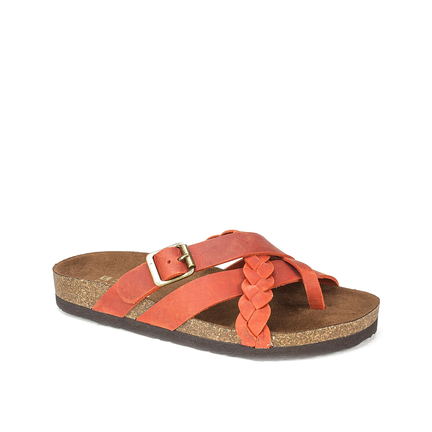 Bring on the summer vibes with the Harrington sandal from White Mountain. A braided accent and cork midsole keep this pair right on trend.
