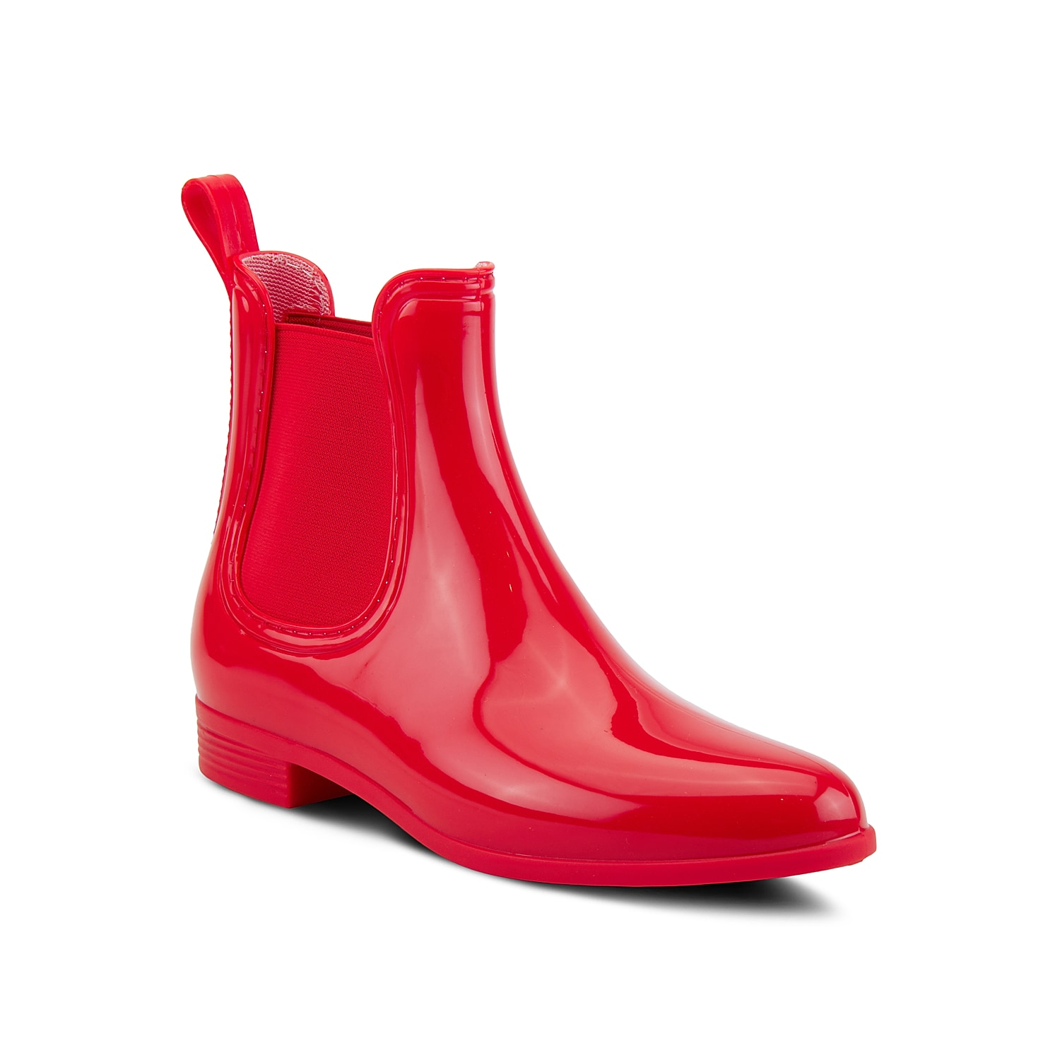 Add some shine to rainy days with the Raindrop Chelsea rain boot from Spring Step. This classic style boot showcases a waterproof construction to keep the water out and is equipped with twin goring panels for a precise fit.