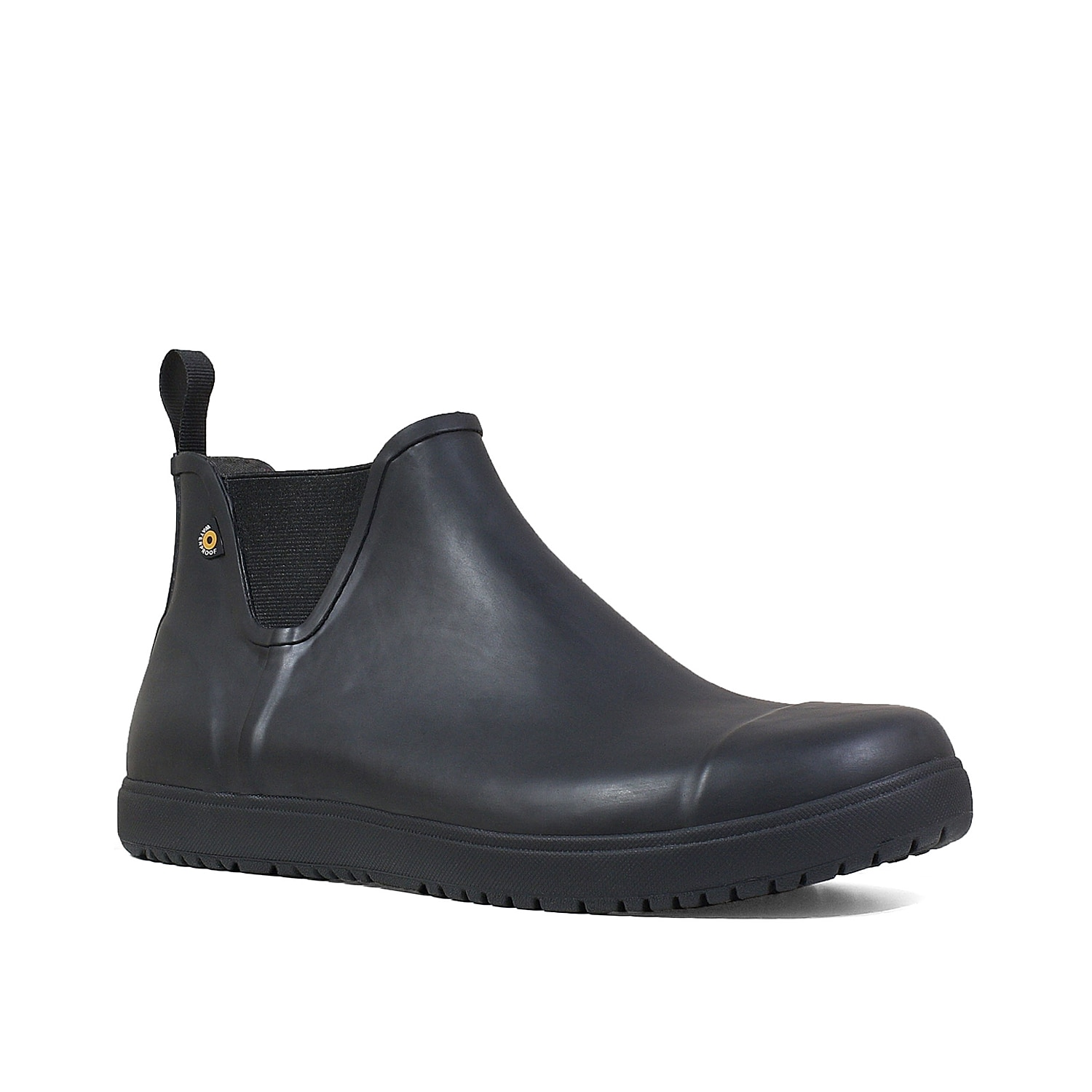 Suitable for yard work or running errands in the rain, the Overcast boot from Bogs will be perfect for you. The waterproof rubber and slip-resistant sole will keep you feeling steady, while Chelsea goring provides pull-on comfort.