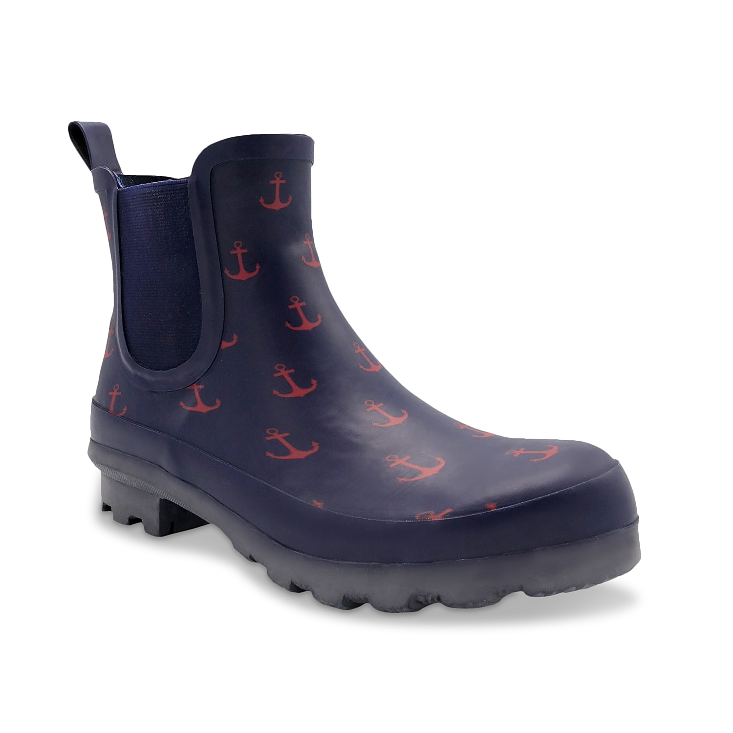 Splash around in the Wembley rain boot from London Fog. This waterproof pair features a memory foam footbed to keep you supported!Click here for Boot Measuring Guide.