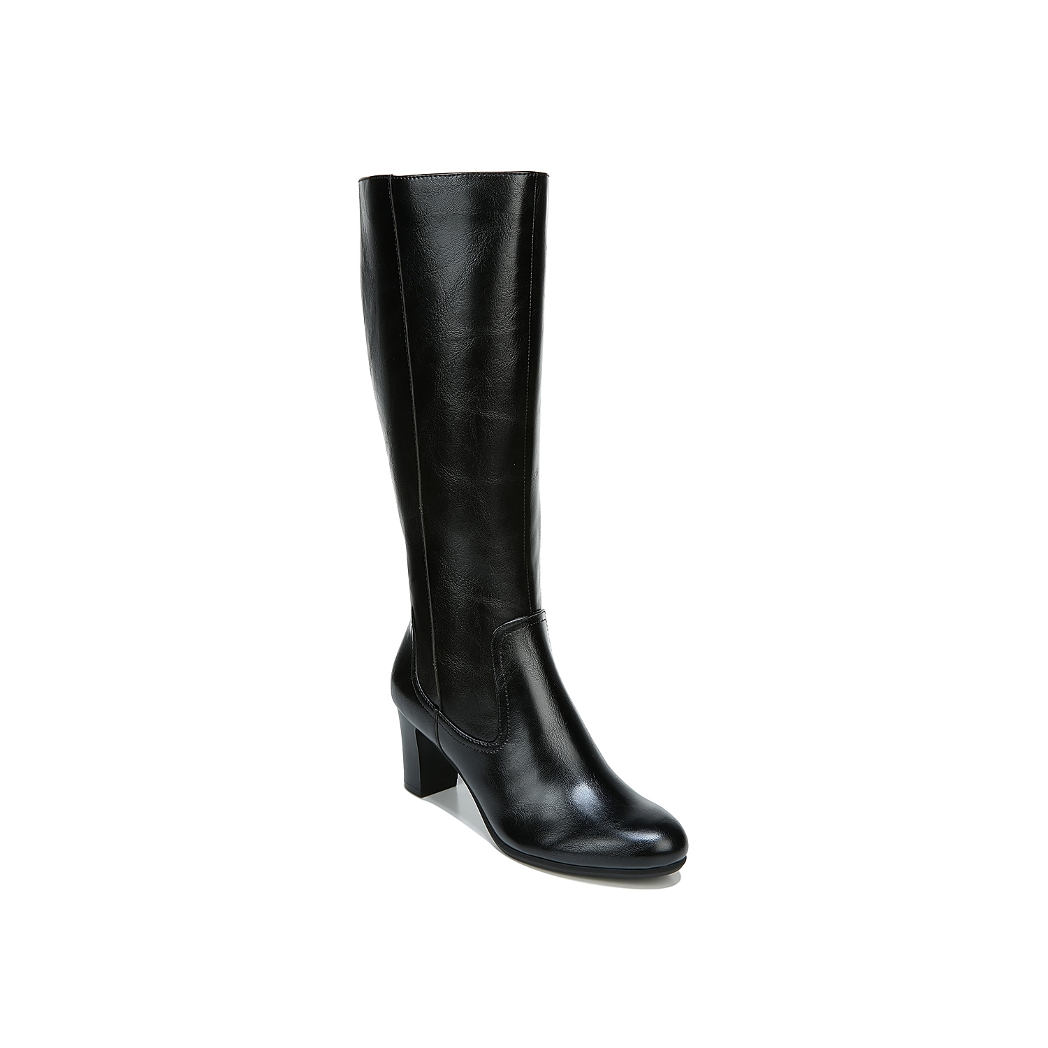 The Life Stride Missy boot heightens your fashion standards to the next level. Besides a tall shaft profile, this boot is enhanced with elegant almond toe and convenient full-length inside zipper.Click here for Boot Measuring Guide.
