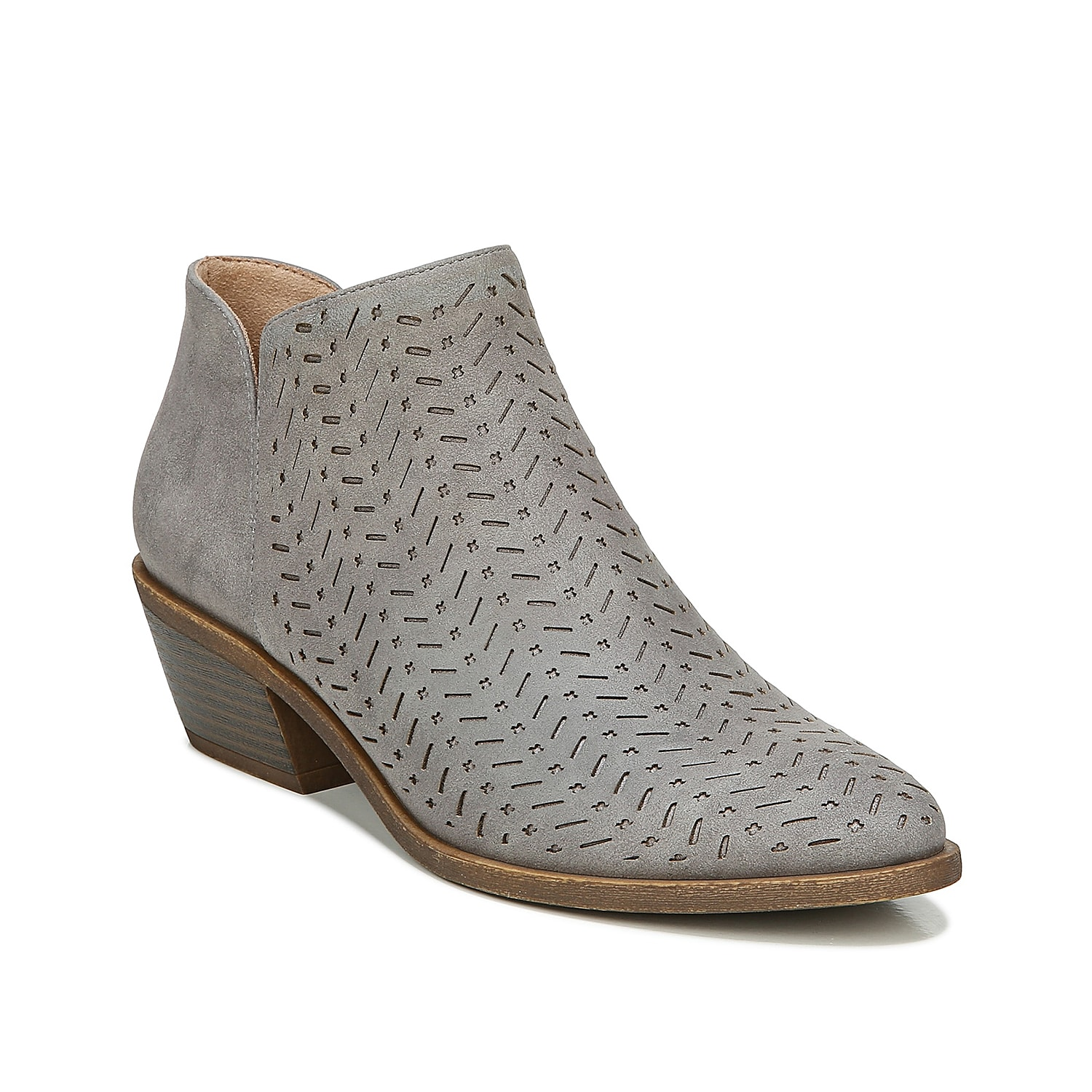 Eccentric looks and enduring comfort make the Life Stride Payton bootie a reliable choice. Impressive deft cut-outs, notched topline, and a Soft System® comfort make this bootie a versatile footwear.