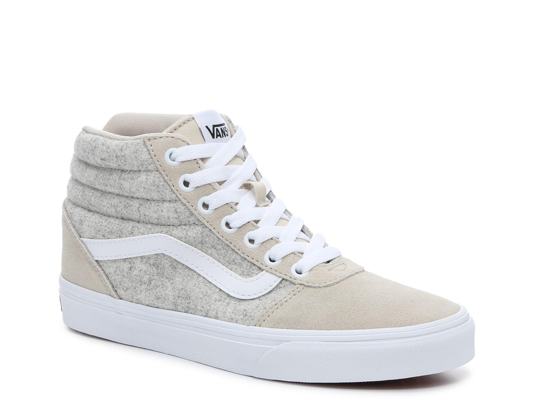 Vans Ward Hi High-Top Sneaker - Women's   DSW