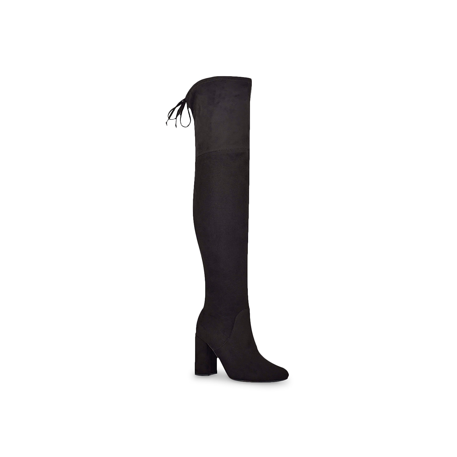You can\\\'t go wrong with the Jaydi over the knee boot from Unisa. The skin-tight stretch design and chunky block heel keeps any cool weather look right on trend.Click here for Boot Measuring Guide.