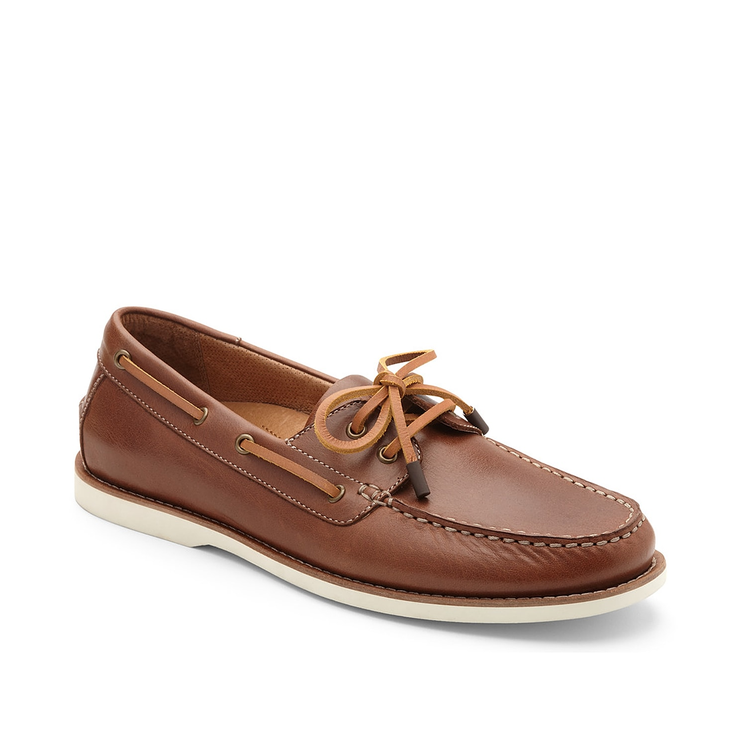 Bring forth your relaxed laidback style with the Lloyd boat shoe from Vionic. Boasting a slip-on silhouette, this leather loafer is designed with 360-degree lacing system and supportive orthotic Technology.
