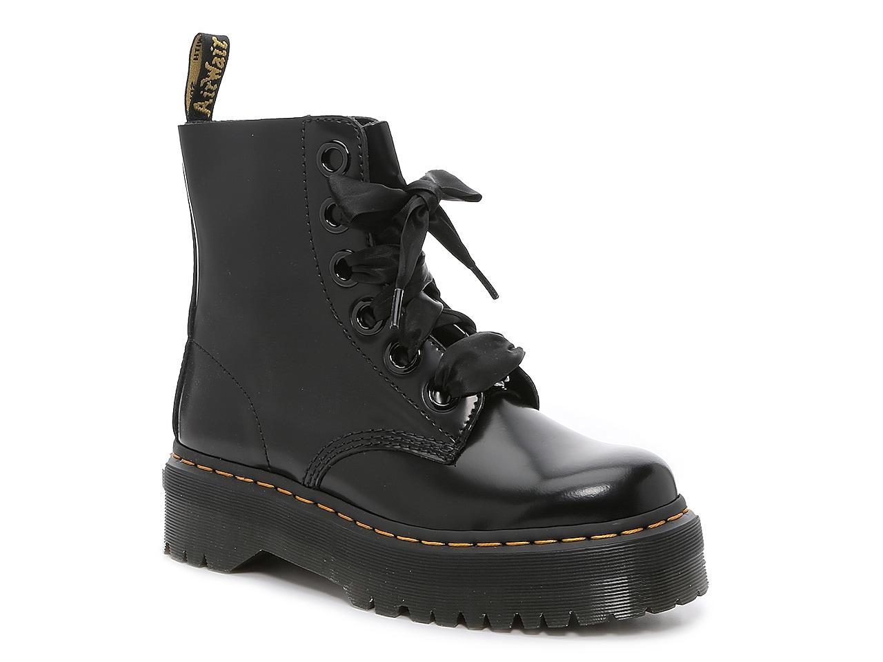 Dr. Martens Molly Platform Combat Boot - Women's