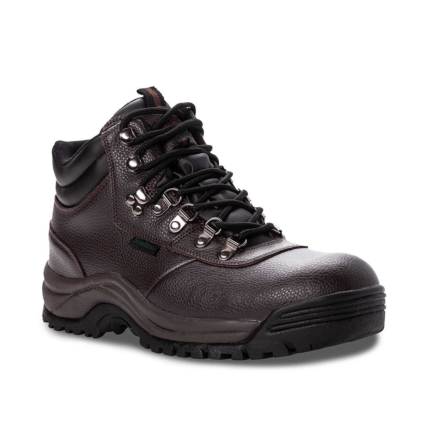 The Shield Walker hiking boot from Propet will keep your feet supported for any activity. With a work-appropriate composite toe and speed-lacing closure, this waterproof boot will become an instant staple.