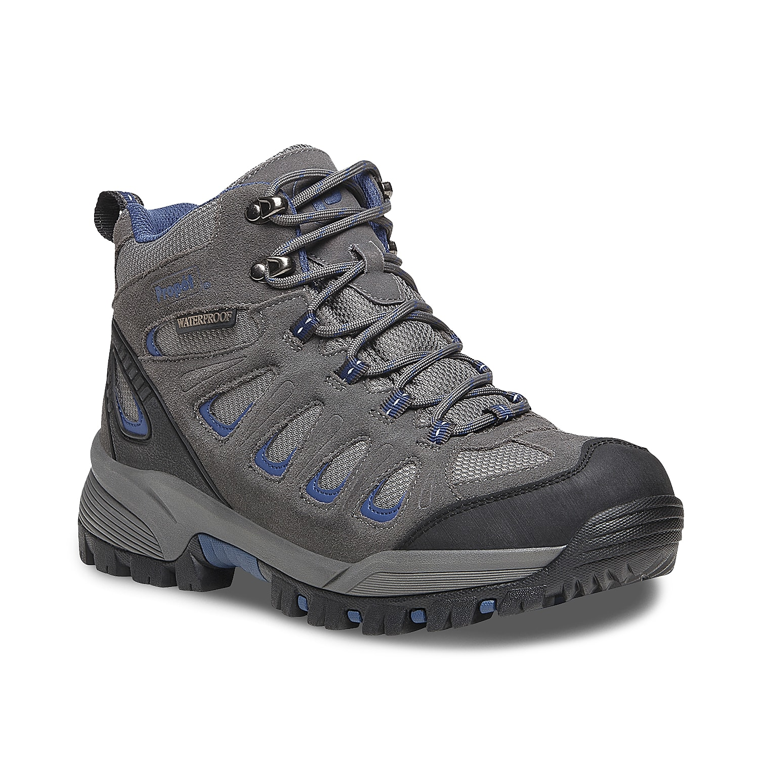 Take your adventure to the next level with the Pro Ridge Walker hiking boot from Propet. This pair features padded collar for support and a thick EVA midsole to cushion every step.