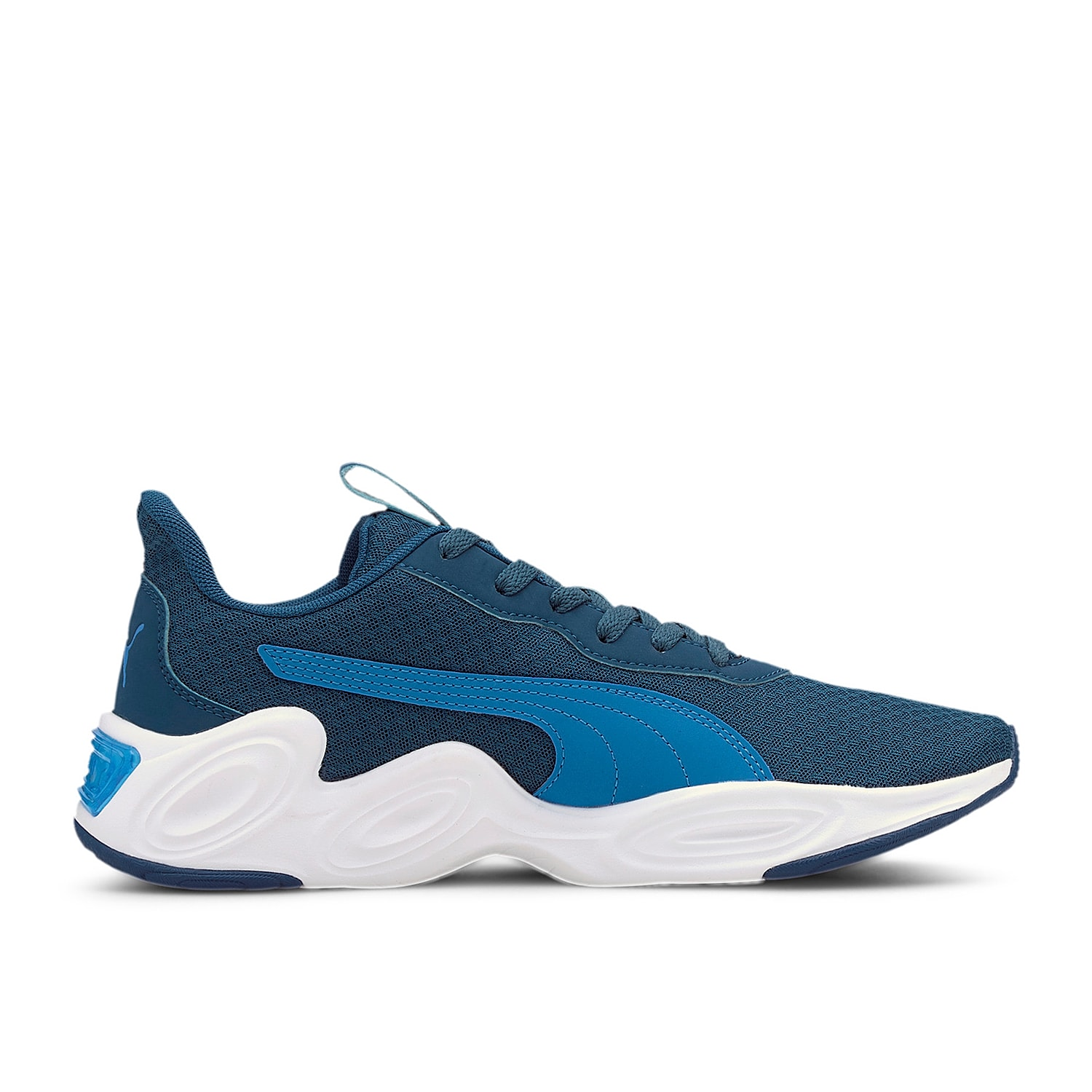 Freshen up casual looks with the men\\\'s Cell Magma Clean sneaker from Puma. A thick foam midsole and SoftFoam+ footbed will keep you comfortable during any activity.