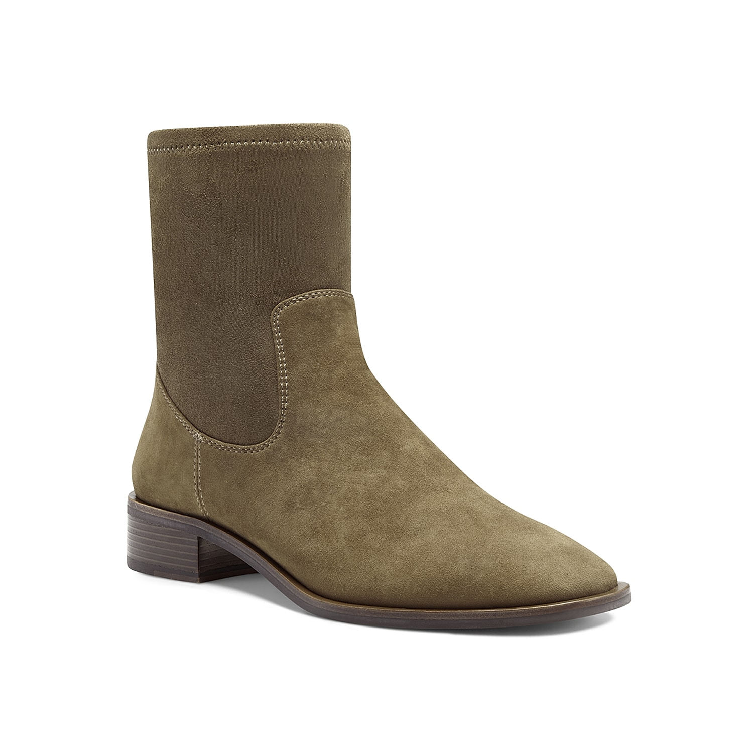Classy looks combined with maximal comfort is what makes the Louise Et Cie Silko bootie a unique pick. Donning smooth, premium upper, this bootie has a knitted shaft that offers you a sock-like fit. Click here for Boot Measuring Guide.