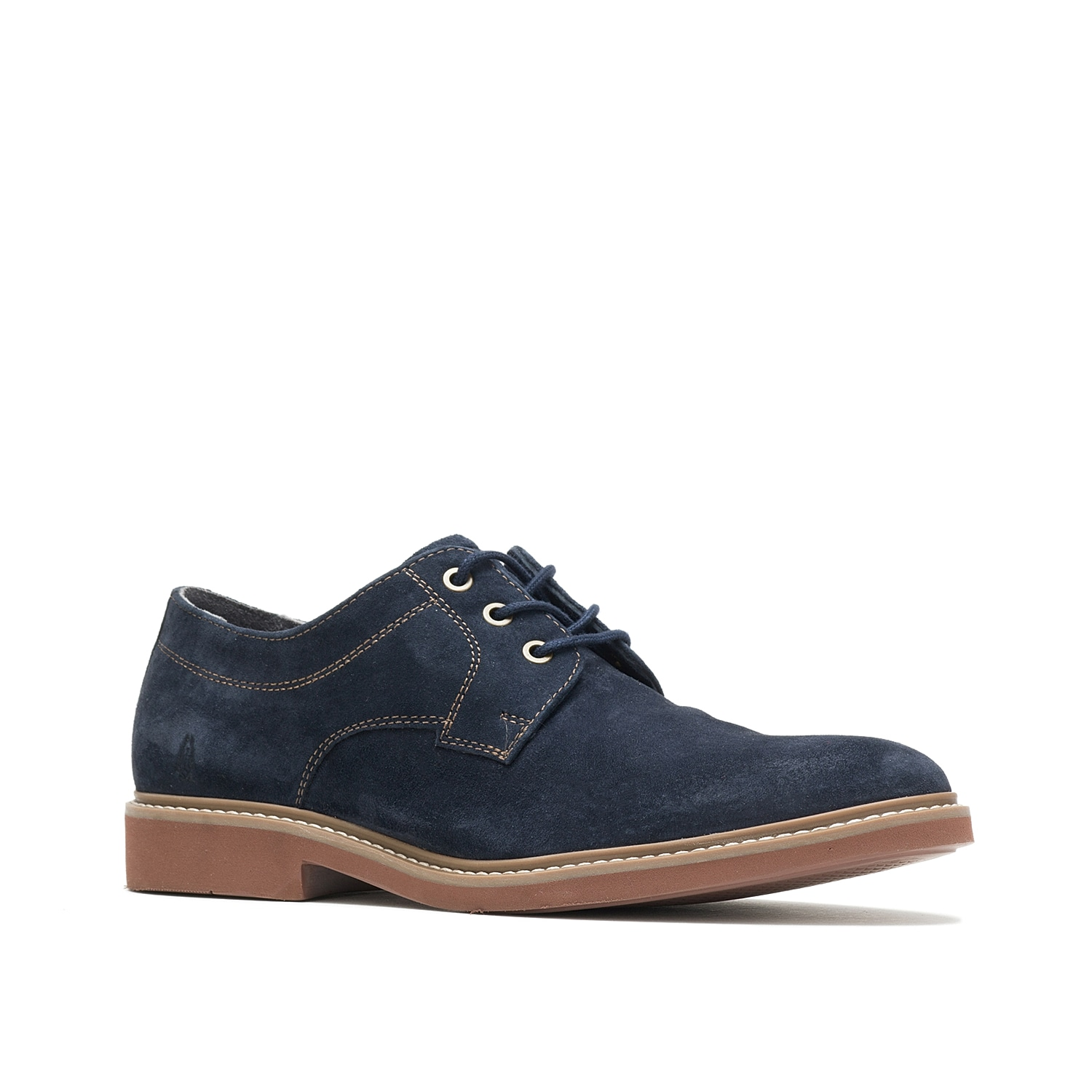 The Detroit oxford from Hush Puppies is a mixture of classic features with modern comfort. This lace-up is extremely comfortable, thanks to its Strobel construction from WorryFree¿ water-resistant leather, Bounce¿ footbed and anti-fraying sock lining.