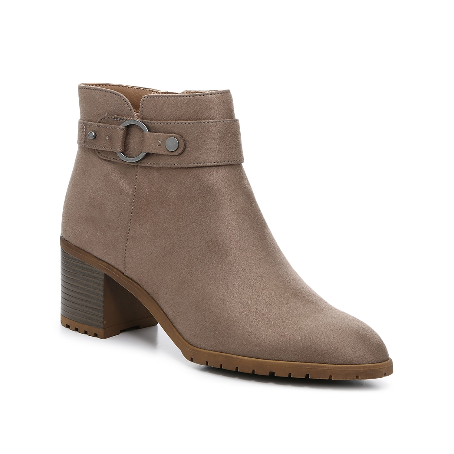 Get the flexibility and style you\\\'ve wanted with the Life Stride Miranda boot. An interior zipper makes on-and-off wear easy, and the lugged outsole provides walkable traction without weighing down the feel of these ankle booties.Click here for Boot Measuring Guide.