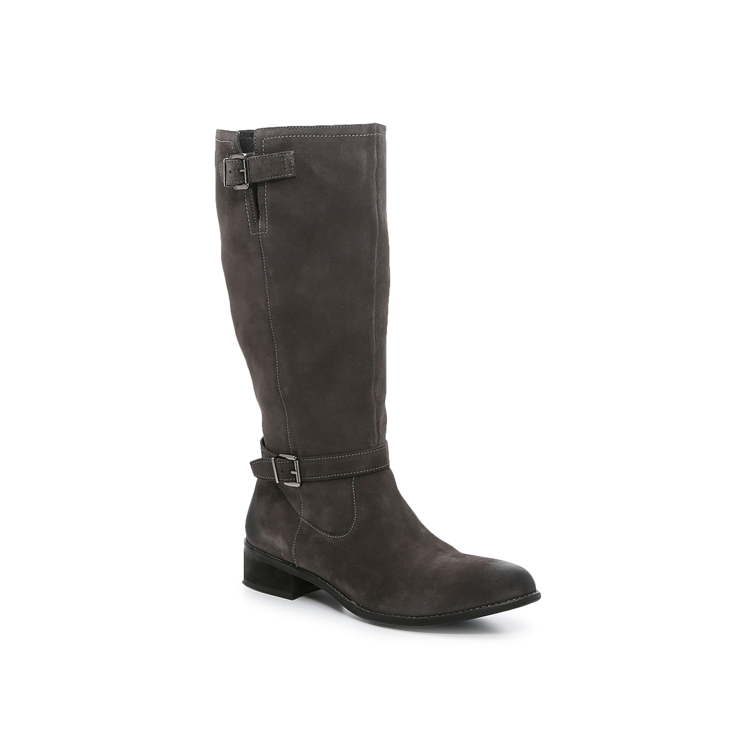 The Earth Hardwick boots are crafted from nubuck leather and a durable outsole for lasting wearability. A full-length zipper with a hidden elastic panel provide an easygoing fit and a built-in panel allows you to adjust the fit for top-notch comfort.Click here for Boot Measuring Guide.