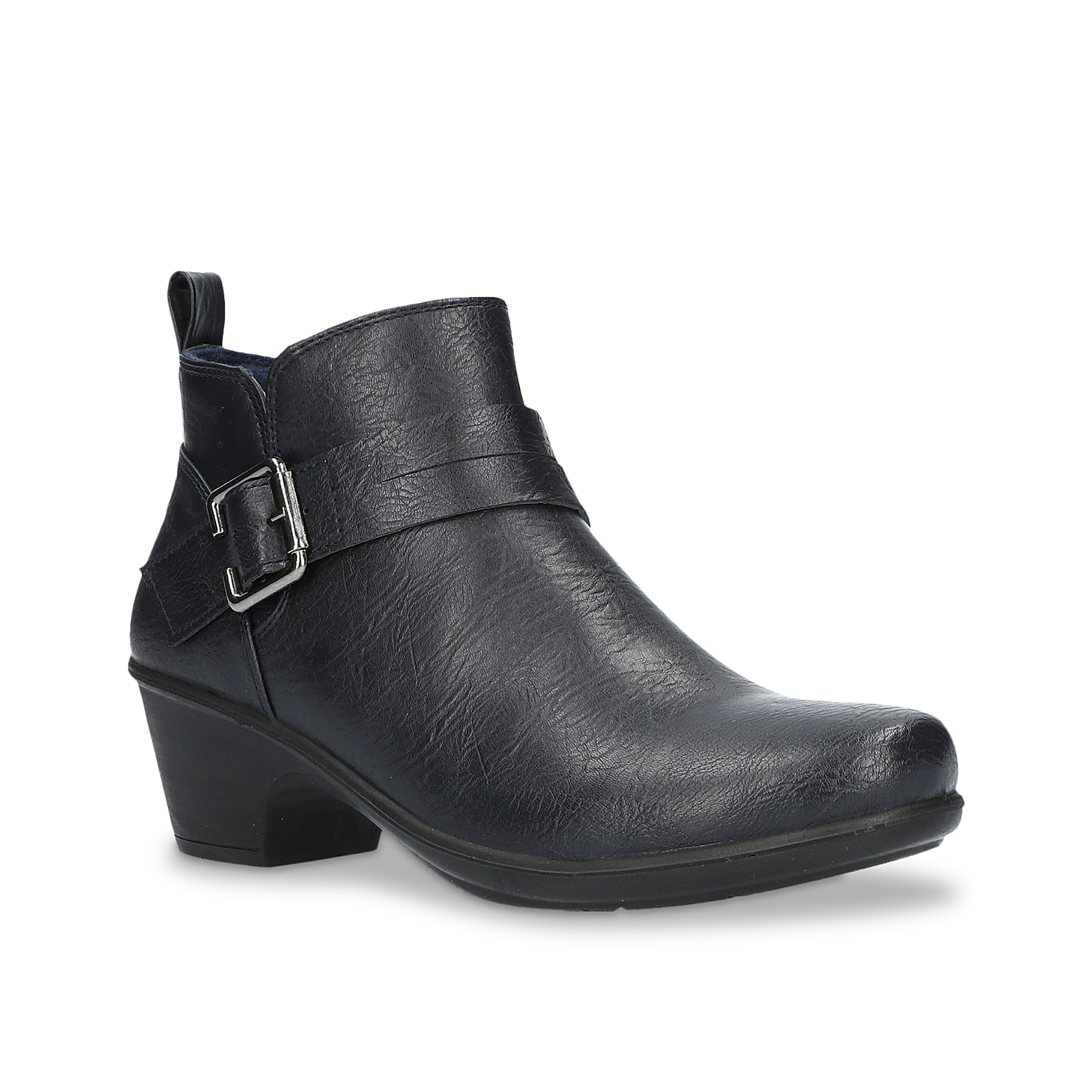 If you have a taste for details, then the Hester bootie by Easy Street will never let you down. Highlighted with overstated buckle and strap, this ankle bootie comprises comfortable Easy Motion by Easy Street ultra-light insole along with lightweight and flexible sole.Click here for Boot Measuring Guide.