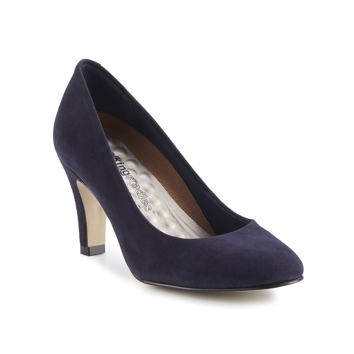 Show off your classic side with the Frances pump from Walking Cradles. A Tiny Pillows footbed keeps you supported from work to an elegant evening out.