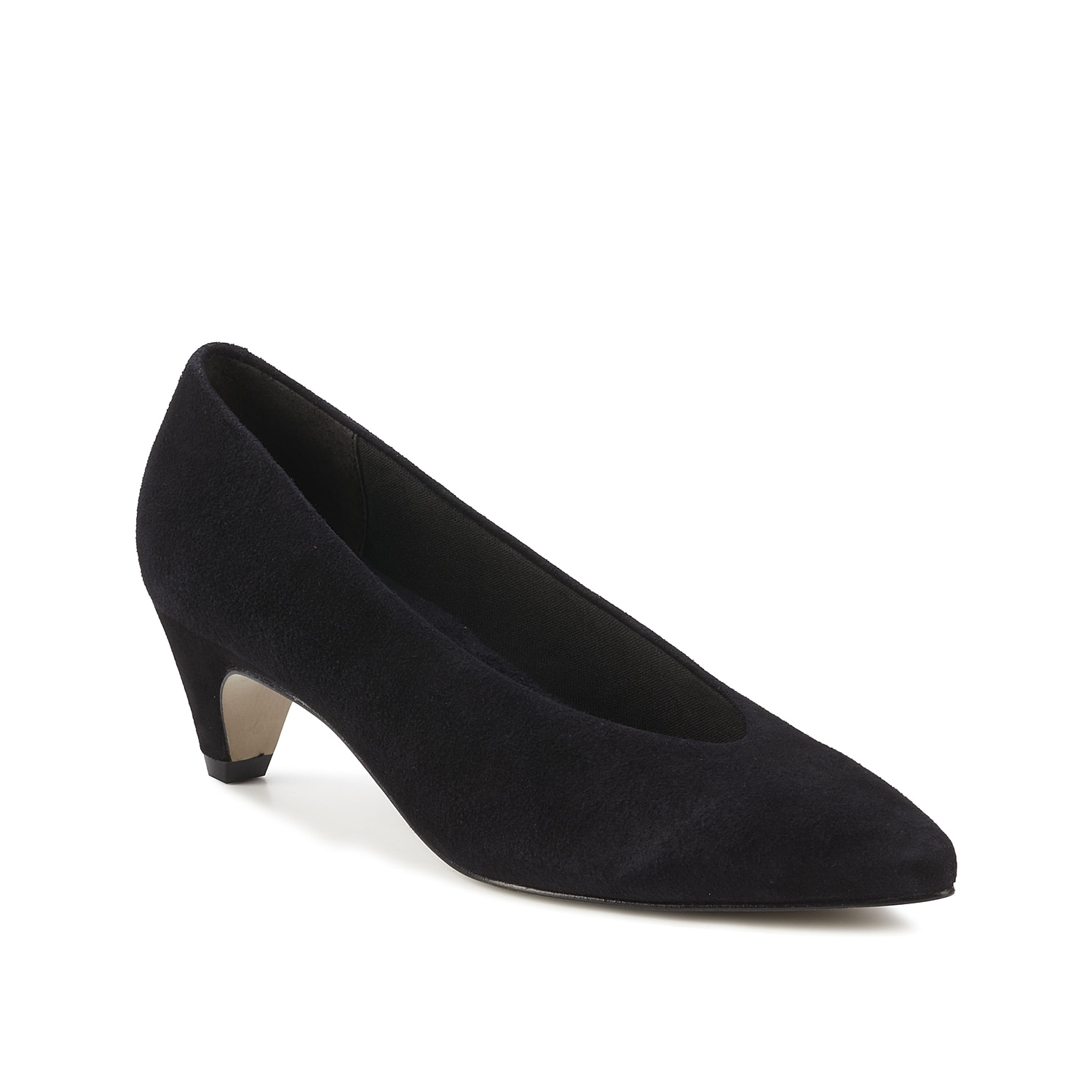 Classic and comfortable, the Raquel pump from Walking Cradles will become a new favorite. This pointed toe pair is finished with a Tiny Pillows footbed for daylong support.