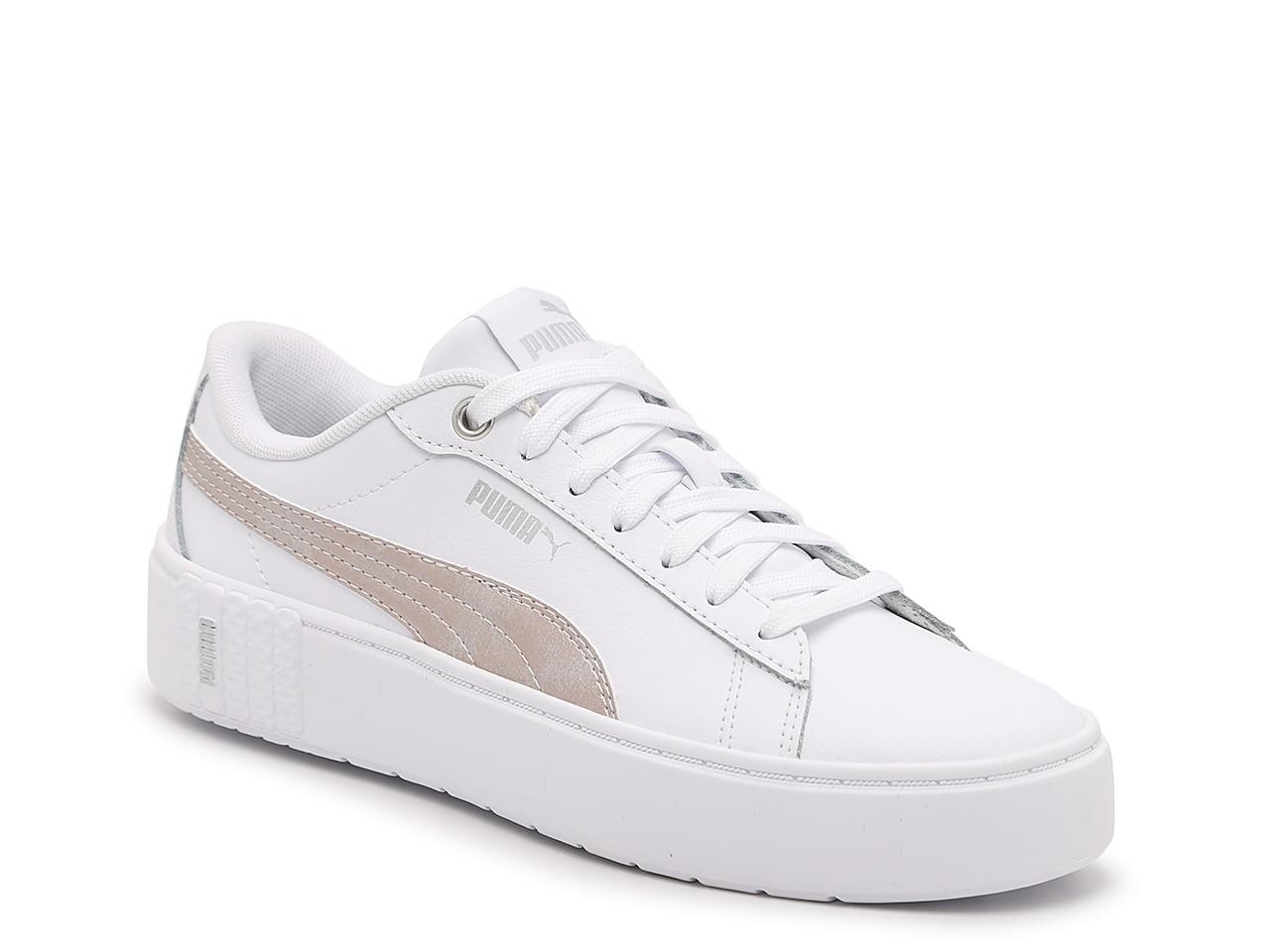 Puma Smash v2 Platform Sneaker - Women's