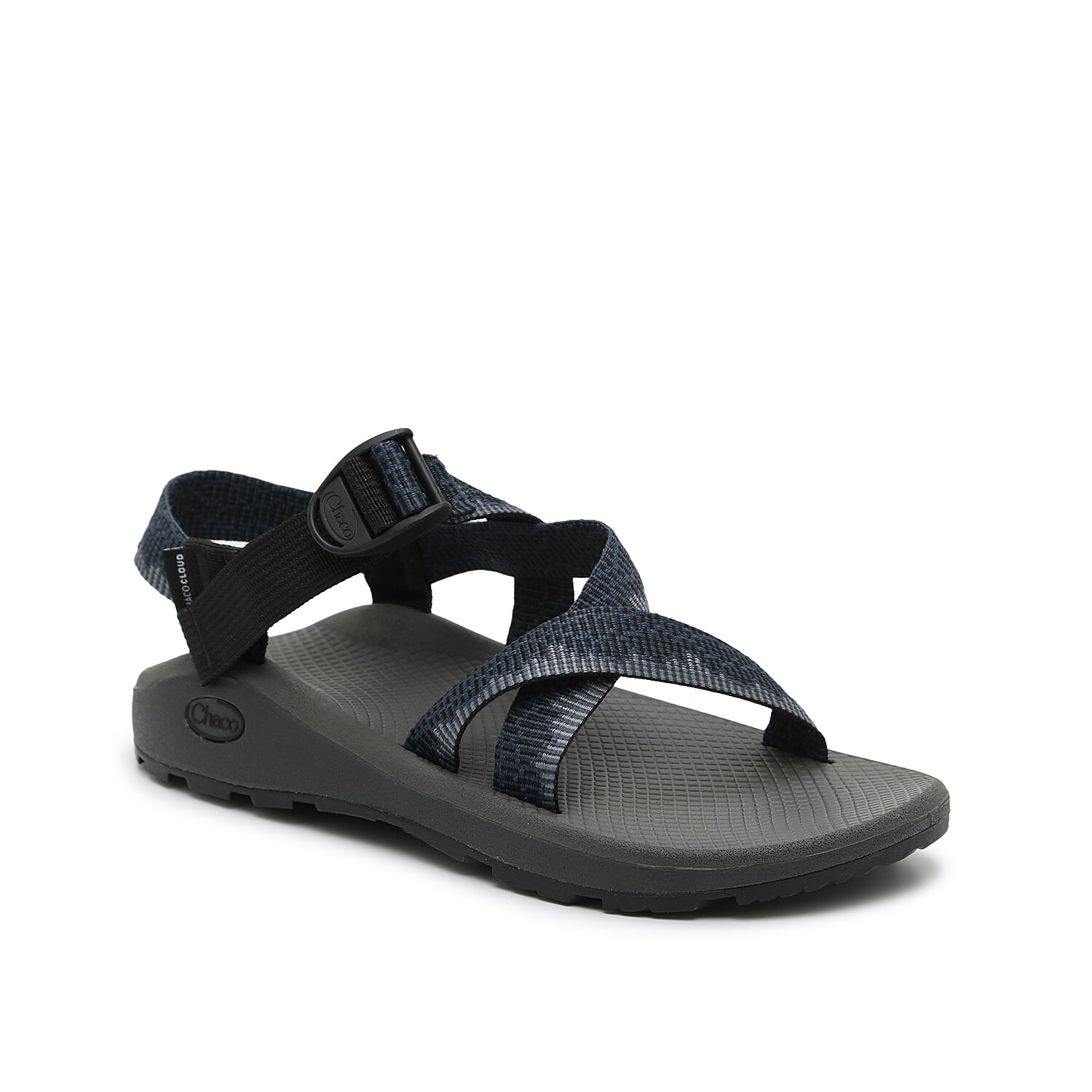 Comfort comes effortlessly with the Zcloud sandal from Chaco. This pair features a LUVSEAT™ midsole for unstoppable cushioning and a ChacoGrip™ rubber traction sole for daylong stability.