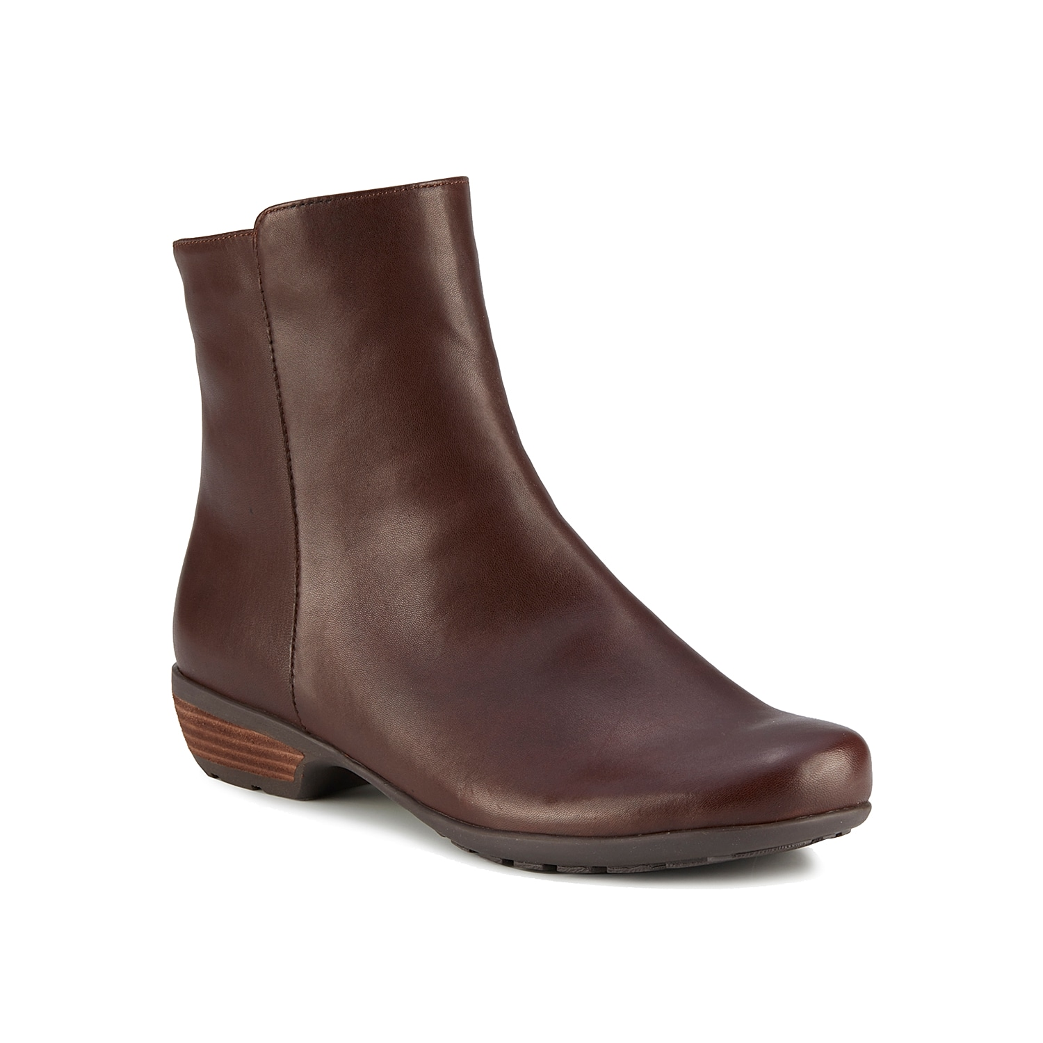The Josephine bootie from Walking Cradles is classic enough for any outfit. A Tiny Pillows footbed keeps every step supported. Click here for Boot Measuring Guide.