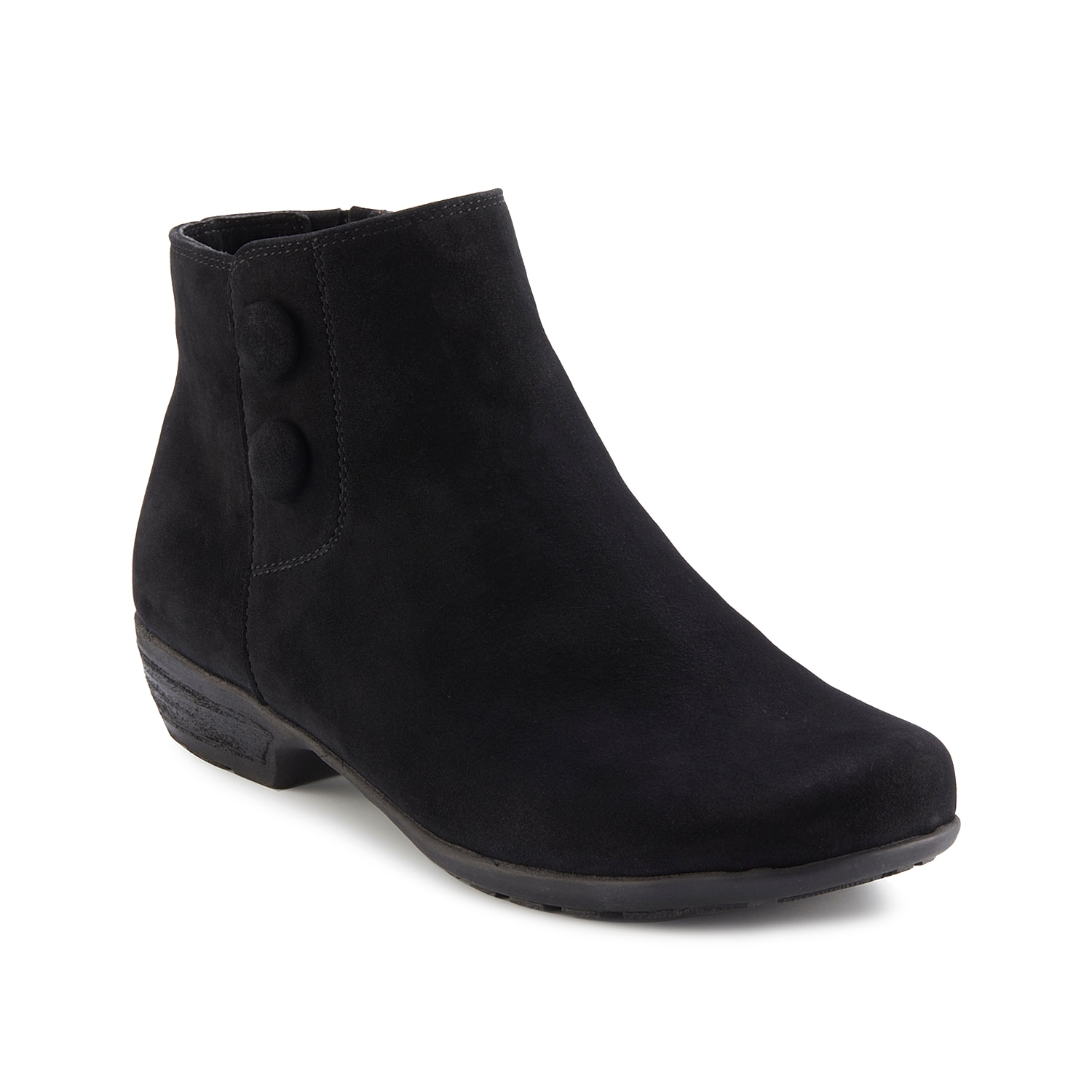 Once you zip into the Janette bootie from Walking Cradles, you\\\'ll never want to take them off. This ankle boot features a Tiny Pillows footbed to keep every step cushioned.Click here for Boot Measuring Guide.
