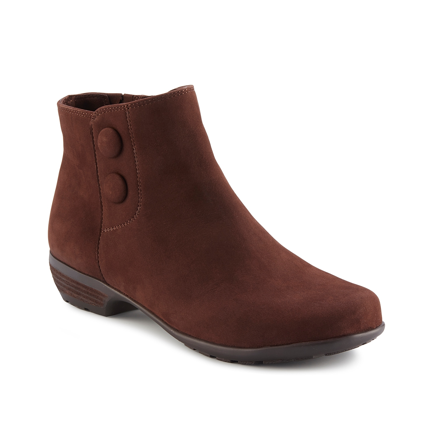 Once you zip into the Janette bootie from Walking Cradles, you\\\'ll never want to take them off. This ankle boot features a Tiny Pillows footbed to keep every step cushioned. Click here for Boot Measuring Guide.