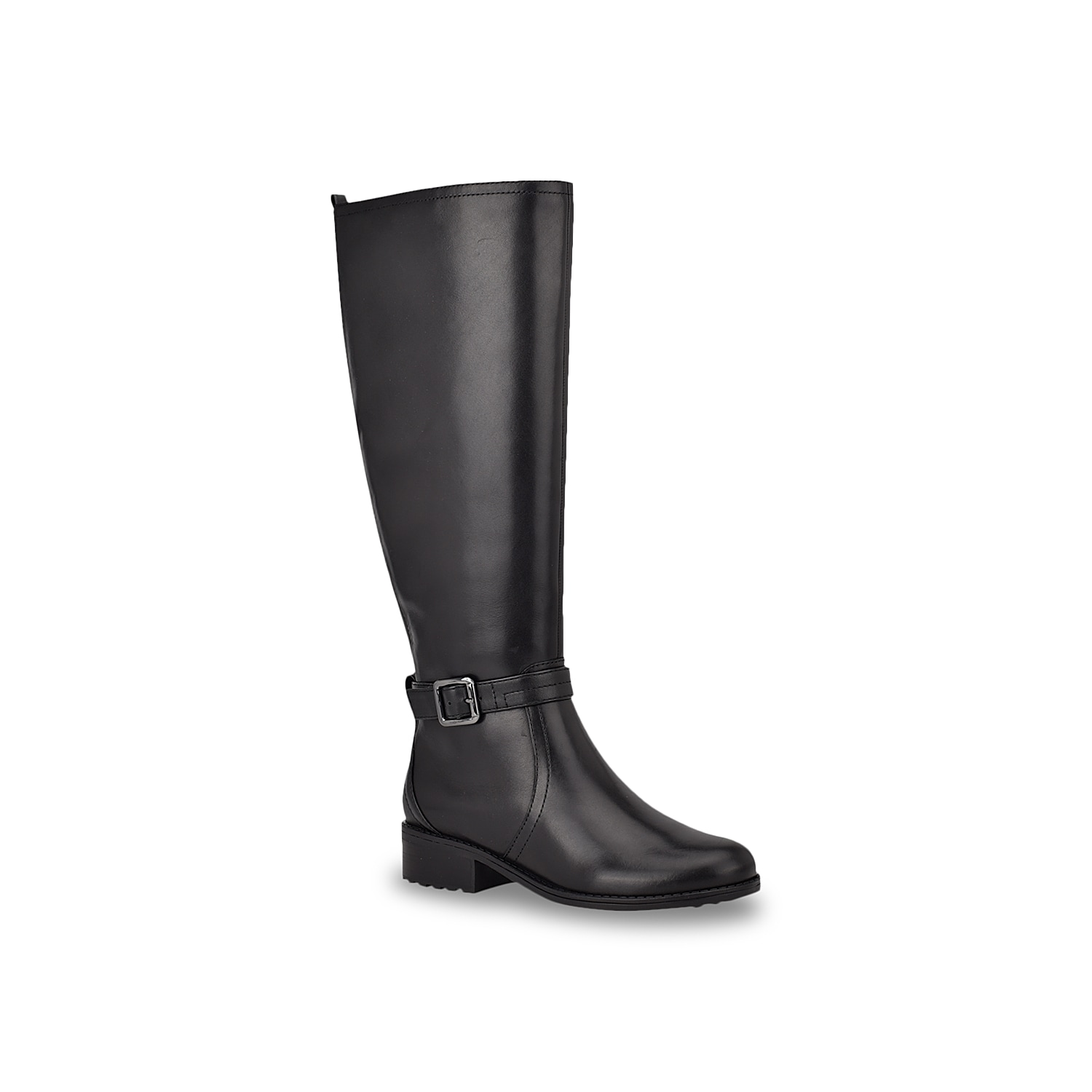 The Reverie boot by Easy Spirit can go well with a versatile range of outfits. Boasting of a tall silhouette with rear elastic gore, this boot has convenient inside zip, reliable arch support, fabric lining and footbed along with traction lug rubber sole with supportive low heel.Click here for Boot Measuring Guide.