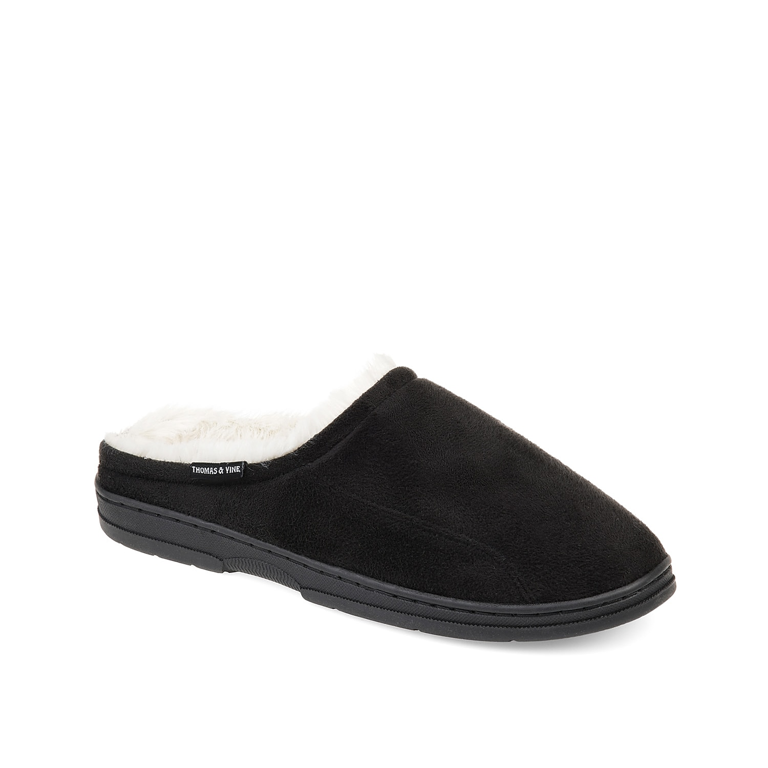 The Rodney clog by Thomas & Vine makes sure you receive all the comfort and warmth you need. Soft faux suede upper is backed by a warm faux fur lining, comfortable Memory Foam insole and long-lasting rubber sole.
