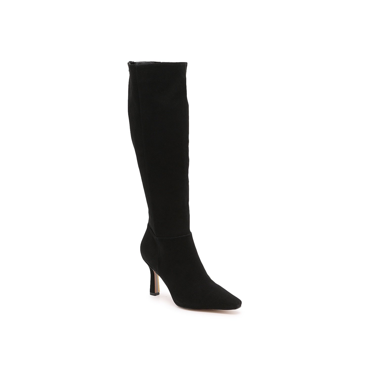 With leg-hugging curves and shapely kitten-style heel, the Davin boots from Sam Edelman dress up your tall boots collection. An almond toe mimics the elegant shape. Click here for Boot Measuring Guide.
