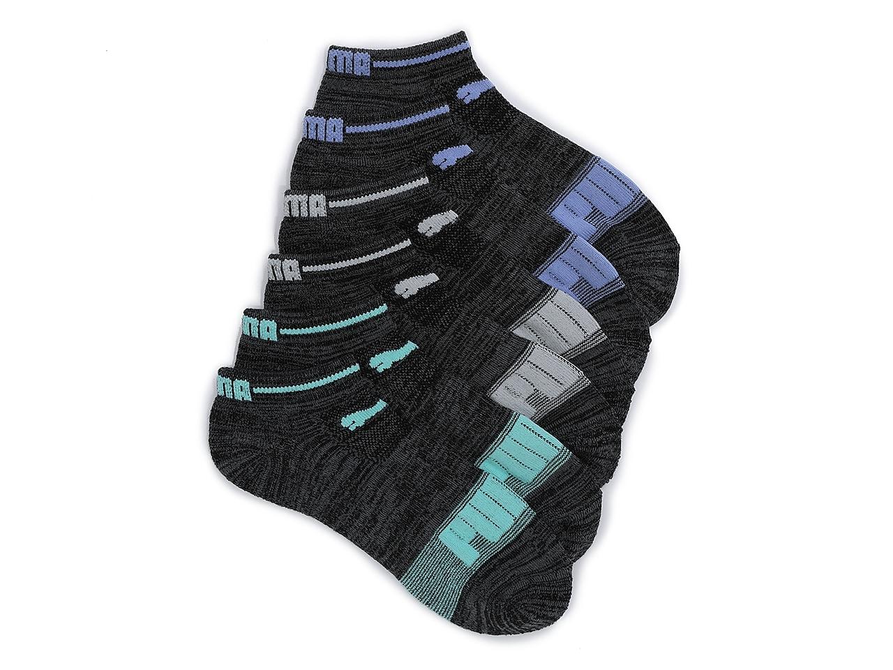 Terry Women's No Show Socks - 6 Pack